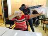 Prostovoljci v domu starejših občanov